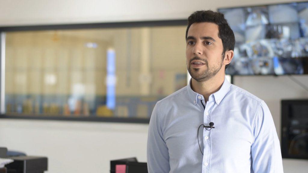 David Garrido, jefe de proyectos de Rectificados Lemar.