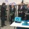 El consejero de Economía, Rogelio Velasco, visita las instalaciones de la empresa onubense, Seabery Soluciones