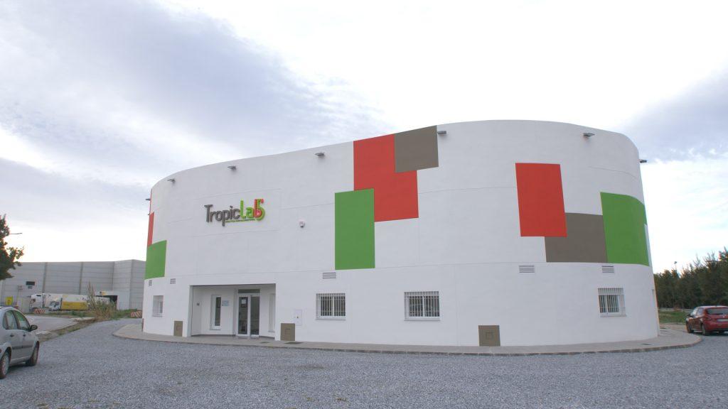Instalaciones de Tropiclab en Motril (Granada)